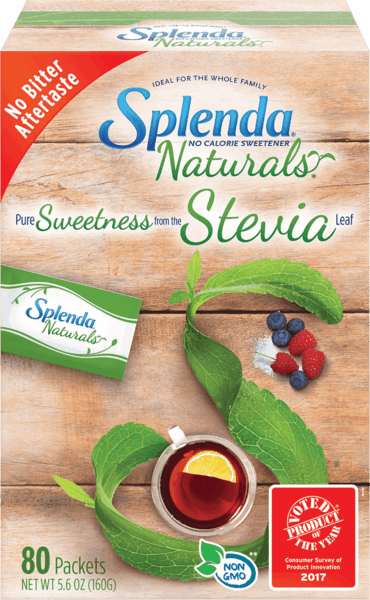 $1.25 for SPLENDA® Naturals Stevia Sweetener Packets. Offer available at multiple stores.