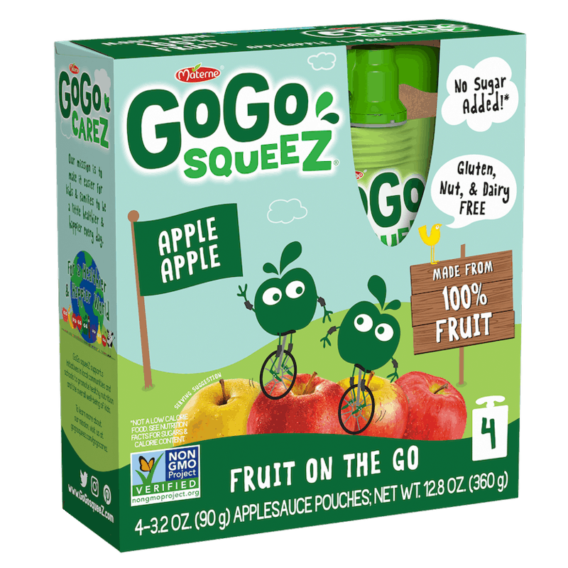 $0.50 for GoGo squeeZ® fruit OR GoGo squeeZ® fruit & veggieZ (expiring on Wednesday, 12/23/2020). Offer available at multiple stores.