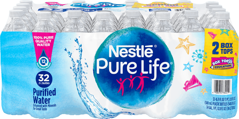 $0.75 for Nestlé Pure Life® Water (expiring on Monday, 09/02/2019). Offer available at Walmart.