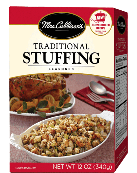 $0.50 for Mrs. Cubbison's® Stuffing (expiring on Wednesday, 11/01/2017). Offer available at multiple stores.