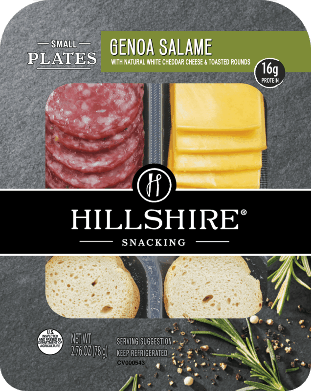 $1.00 for Hillshire® Snacking Small Plates (expiring on Wednesday, 10/02/2019). Offer available at Walmart.