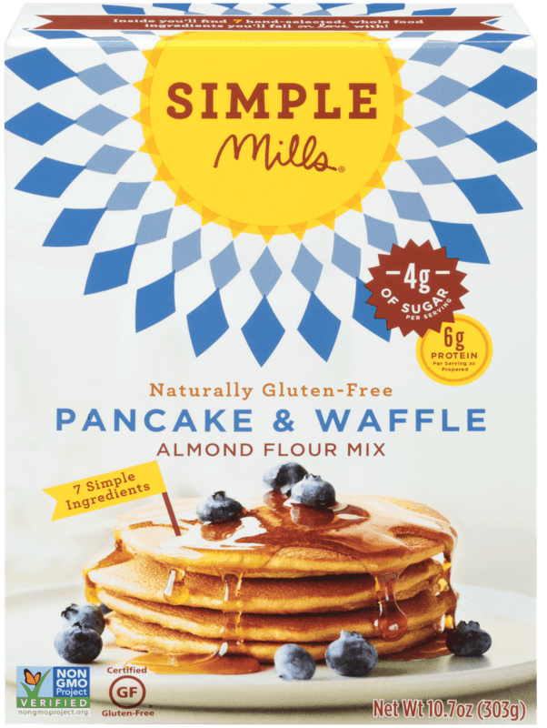 $1.00 for Simple Mills® Baking Mixes or Frosting (expiring on Friday, 04/03/2020). Offer available at Publix, Meijer.