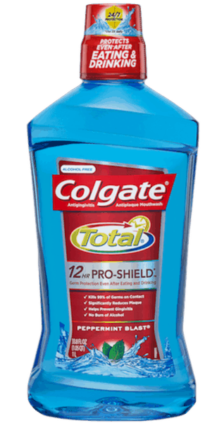 $2.00 for Colgate Total® Mouthwash (expiring on Wednesday, 11/07/2018). Offer available at Walmart.