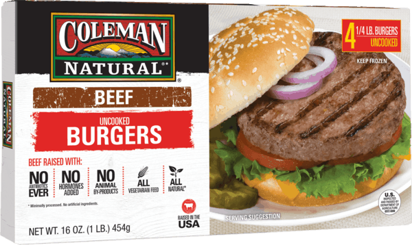 $1.50 for Coleman Natural® Uncooked Frozen Beef Burgers (expiring on Saturday, 10/06/2018). Offer available at Safeway, Publix, ShopRite, Sprouts Farmers Market, Raley's.