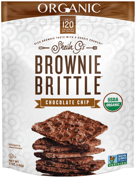 $1.00 for Brownie Brittle™ Organic Chocolate Chip (expiring on Monday, 04/02/2018). Offer available at Safeway, Target, Whole Foods Market®.
