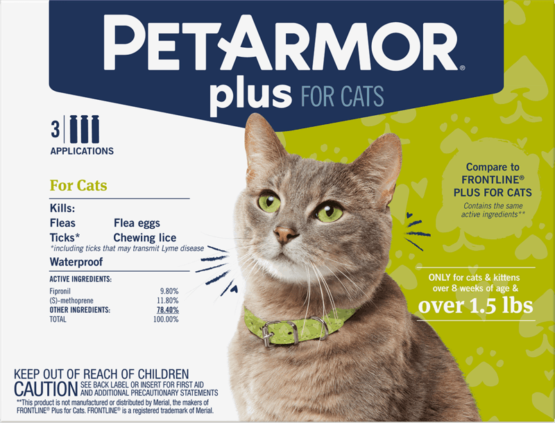 $5.00 for PetArmor® Plus for Cats. Offer available at PetSmart.