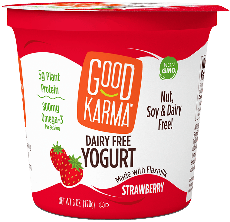 $0.50 for Good Karma Plant-Based Yogurt (expiring on Friday, 06/19/2020). Offer available at multiple stores.