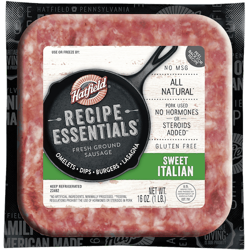 $1.00 for Hatfield Recipe Essentials (expiring on Tuesday, 06/02/2020). Offer available at multiple stores.