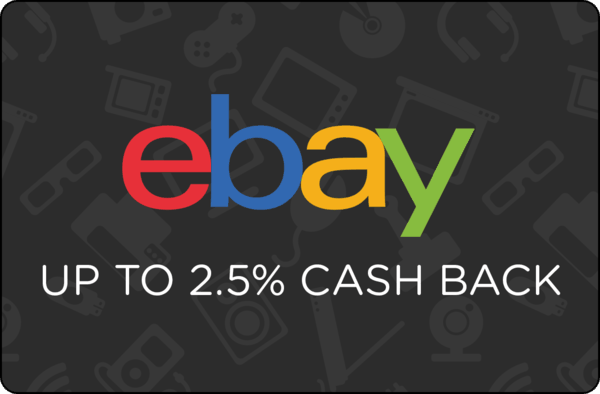 $0.00 for Ebay (expiring on Monday, 10/01/2018). Offer available at eBay.