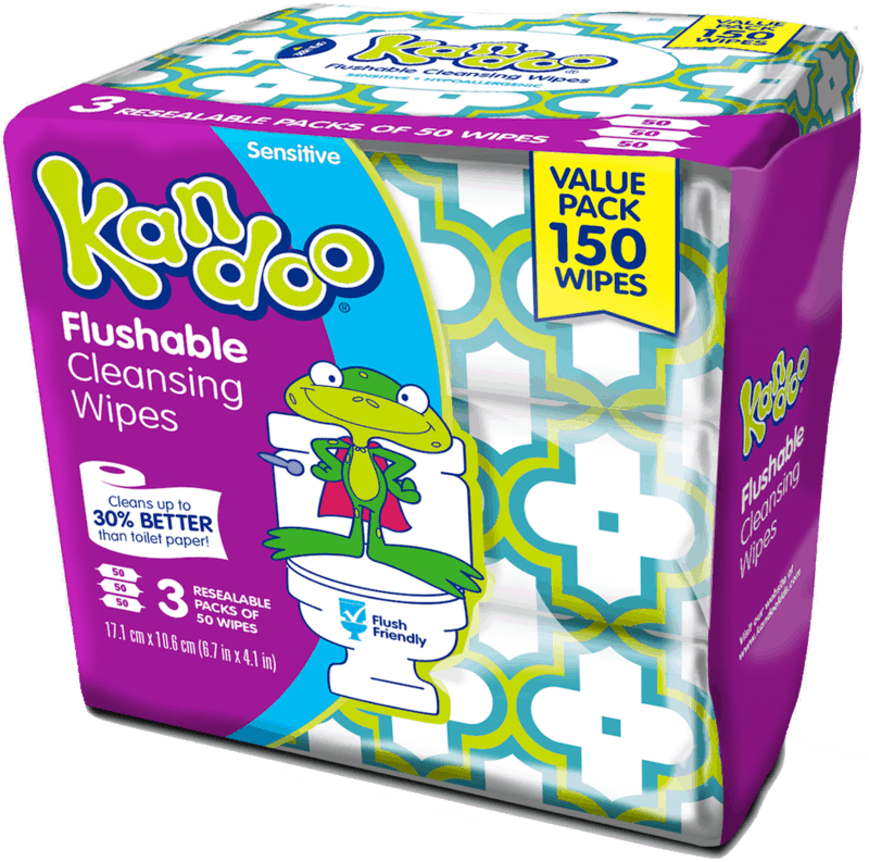 $2.00 for Kandoo® Flushable Wipes (expiring on Thursday, 12/12/2019). Offer available at Walmart.