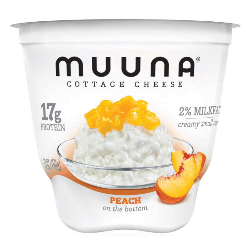 $0.50 for Muuna® Cottage Cheese Peach (expiring on Monday, 09/02/2019). Offer available at Walmart.