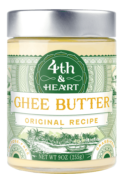 $1.75 for 4th & Heart Grass-Fed + Pasture Raised Ghee Butter. Offer available at multiple stores.