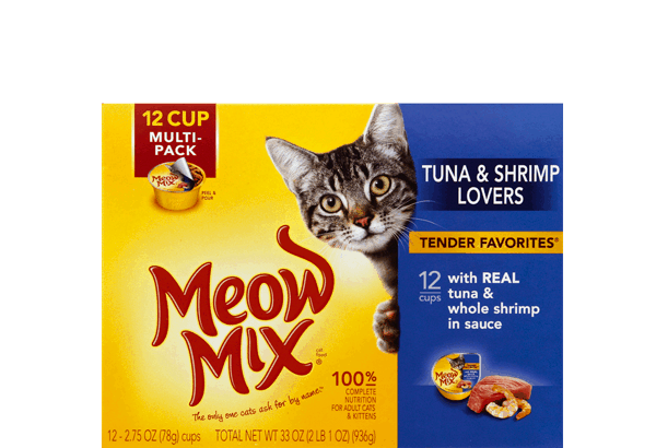 $1.00 for Meow Mix® Wet Cat Food (expiring on Wednesday, 01/31/2018). Offer available at Walmart.