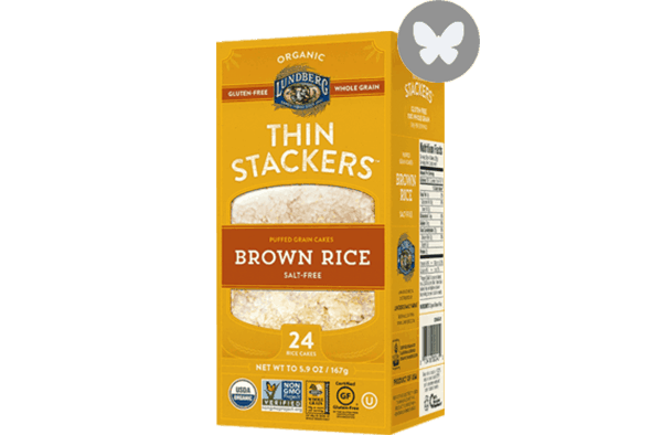 $0.50 for Lundberg Family Farms® Thin Stackers (expiring on Wednesday, 05/02/2018). Offer available at multiple stores.