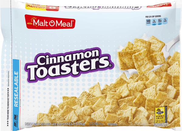 $1.00 for Malt-O-Meal® Gigantic Bagged Cereal (expiring on Thursday, 03/07/2019). Offer available at WinCo Foods.