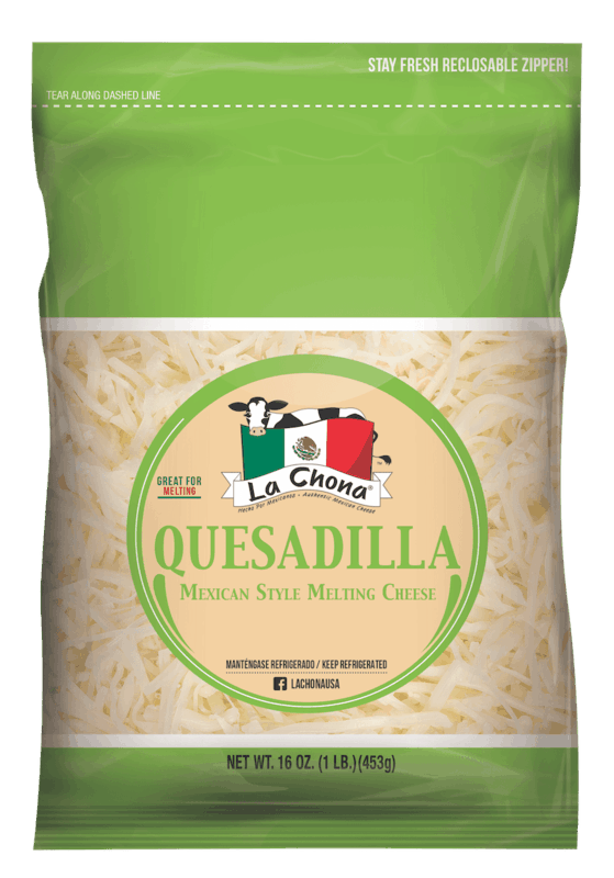 $0.50 for La Chona Quesadilla Cheese (expiring on Tuesday, 09/08/2020). Offer available at Walmart, Walmart Grocery.