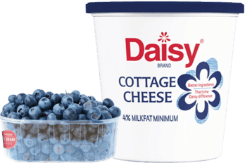 Daisy® Cottage Cheese & Any Brand Fresh Blueberries, Peaches or Pineapple Combo
