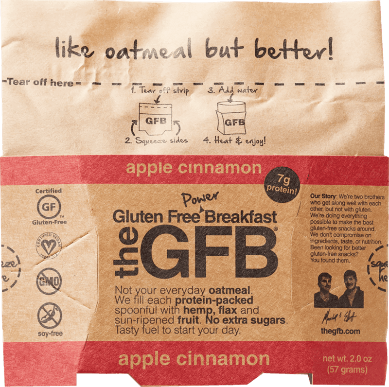 $1.00 for The GFB: Gluten Free Power Breakfast Oatmeal (expiring on Friday, 11/15/2019). Offer available at multiple stores.