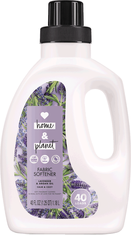 $1.50 for Love Home and Planet™ Fabric Softener (expiring on Saturday, 05/02/2020). Offer available at Meijer, Harris Teeter.