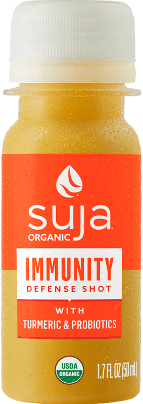 $0.50 for Suja Functional Shots (expiring on Thursday, 03/18/2021). Offer available at Walmart, Walmart Pickup & Delivery.