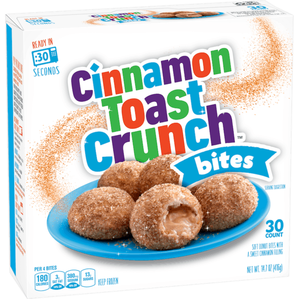 $1.00 for Cinnamon Toast Crunch™ Bites (expiring on Wednesday, 05/02/2018). Offer available at Walmart.
