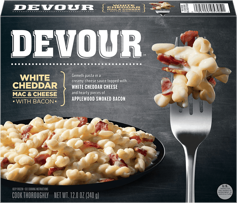 $0.50 for Devour Frozen Meals. Offer available at multiple stores.