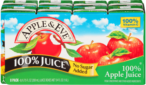 $1.00 for Apple & Eve® Multipack Juice Boxes. Offer available at multiple stores.