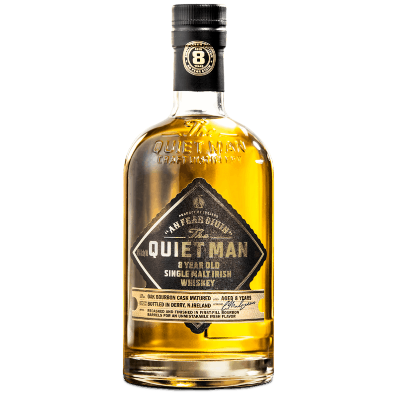 $6.00 for The Quiet Man Single Malt Irish Whiskey. Offer available at multiple stores.