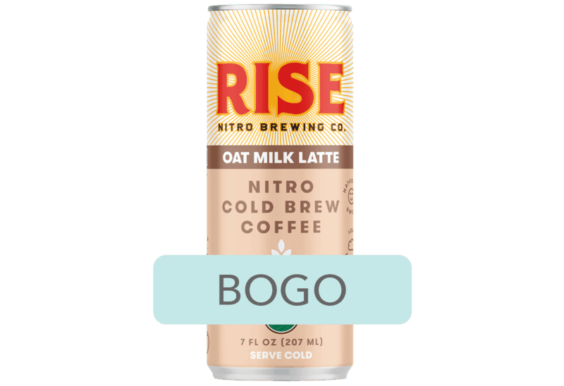 $2.99 for RISE Nitro Cold Brew Coffee (expiring on Monday, 09/21/2020). Offer available at Kroger.
