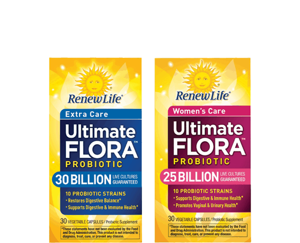 $4.00 for Renew Life® Ultimate Flora™ Probiotic Capsules. Offer available at Walmart.