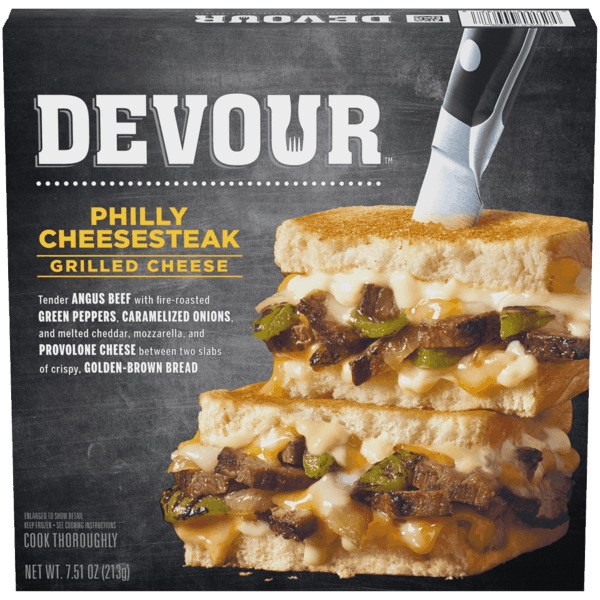 $1.00 for Devour™ Frozen Sandwiches (expiring on Monday, 08/20/2018). Offer available at multiple stores.