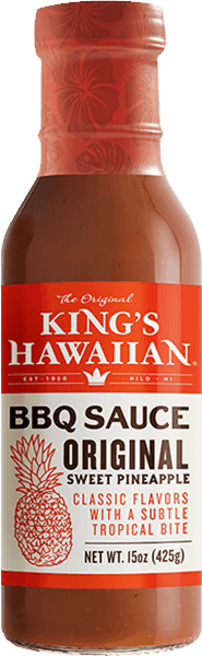 $1.00 for KING'S HAWAIIAN® BBQ Sauce. Offer available at multiple stores.