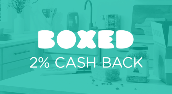 $0.00 for Boxed (expiring on Friday, 05/31/2019). Offer available at Boxed.