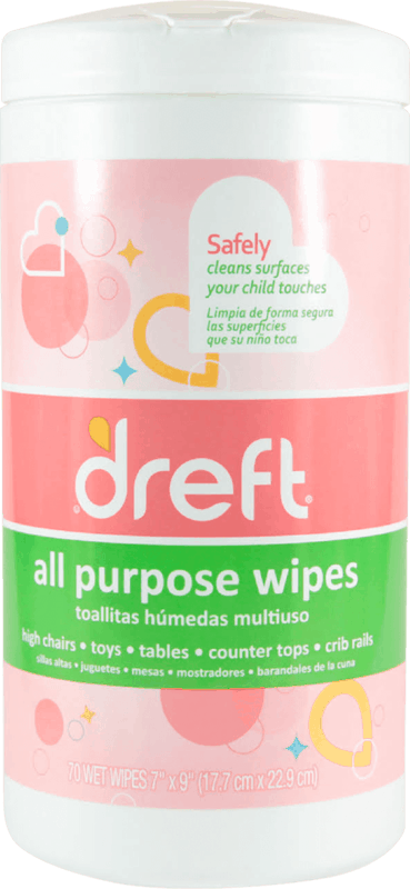 $2.00 for Dreft® All Purpose Wipes (expiring on Thursday, 01/02/2020). Offer available at Walmart, Buy Buy Baby.