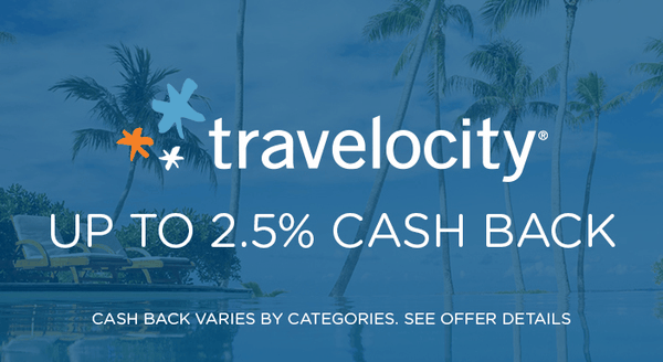 $0.00 for Travelocity (expiring on Tuesday, 12/31/2019). Offer available at Travelocity.