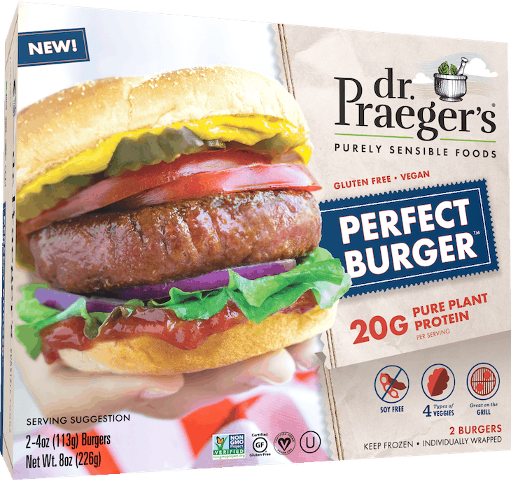 $1.25 for Dr. Praeger's Pure Plant Protein (expiring on Sunday, 12/20/2020). Offer available at multiple stores.