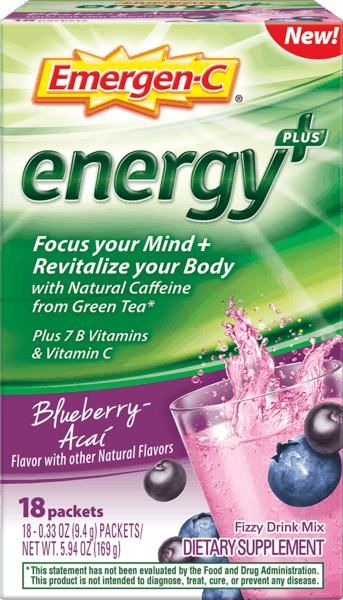 $3.00 for Emergen-C® Energy+. Offer available at Walgreens.