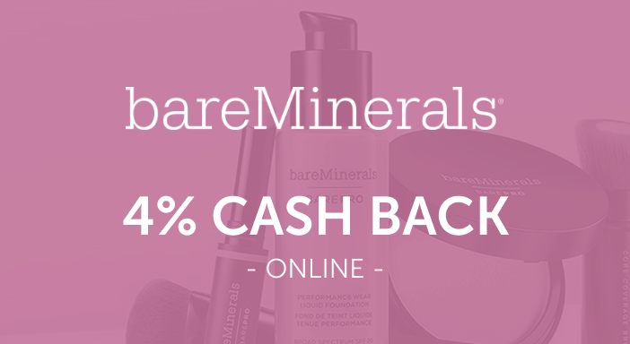 $0.00 for bareMinerals (expiring on Monday, 03/31/2025). Offer available at bareMinerals.