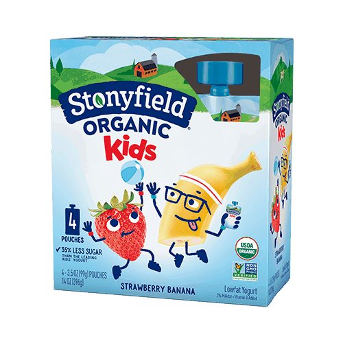 $0.50 for Stonyfield® Organic Kids Yogurt. Offer available at multiple stores.