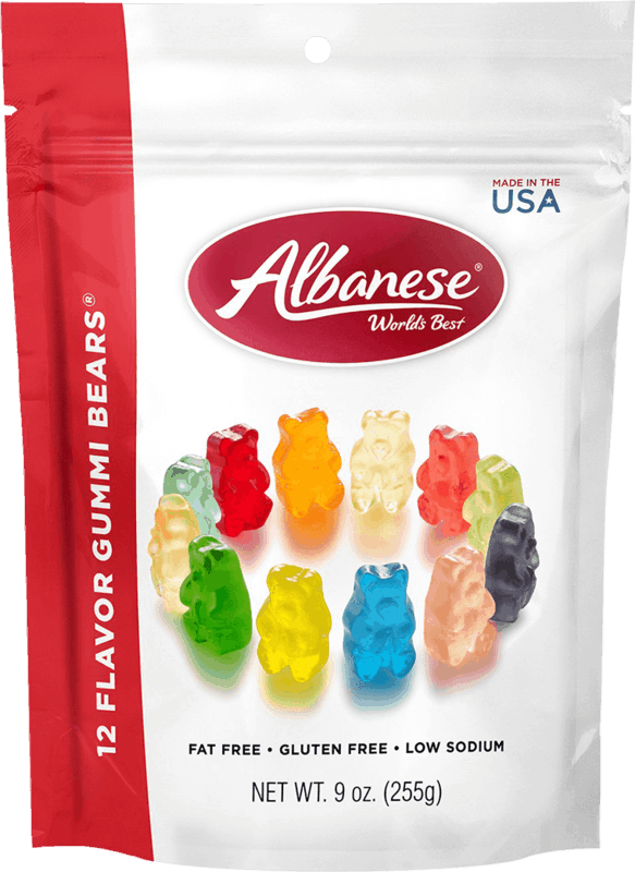 $0.50 for Albanese 12 Flavor Gummi Bears (expiring on Wednesday, 03/31/2021). Offer available at Target, Target Online.