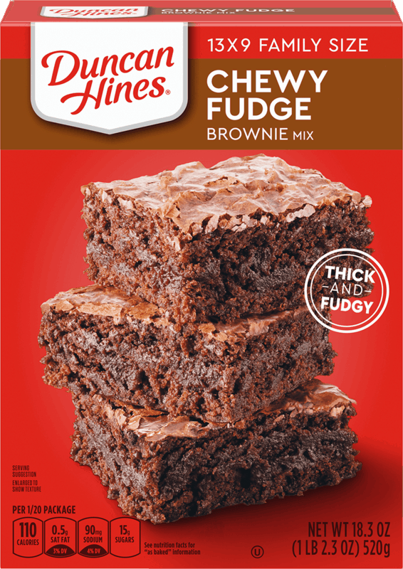 $0.75 for Duncan Hines® Cake or Brownie Mix (expiring on Wednesday, 01/01/2020). Offer available at Walmart.