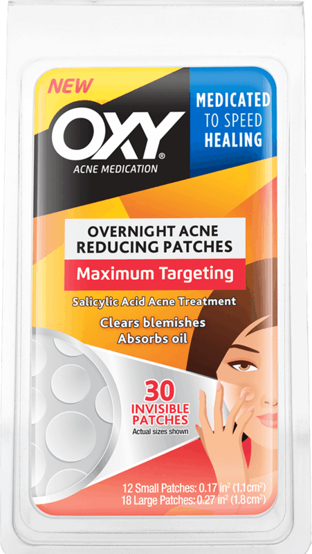 $0.75 for OXY Overnight Acne Reducing Patches (expiring on Sunday, 03/01/2020). Offer available at multiple stores.