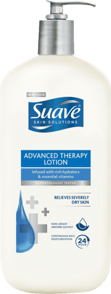 $0.50 for Suave® Lotion (expiring on Saturday, 09/22/2018). Offer available at multiple stores.