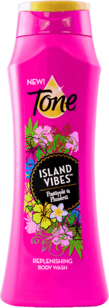 $0.75 for Tone® Body Wash Island Vibes® (expiring on Sunday, 02/10/2019). Offer available at Publix.