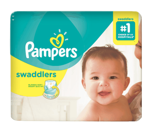 $3.00 for Pampers®Swaddlers (expiring on Wednesday, 10/02/2019). Offer available at Walmart.