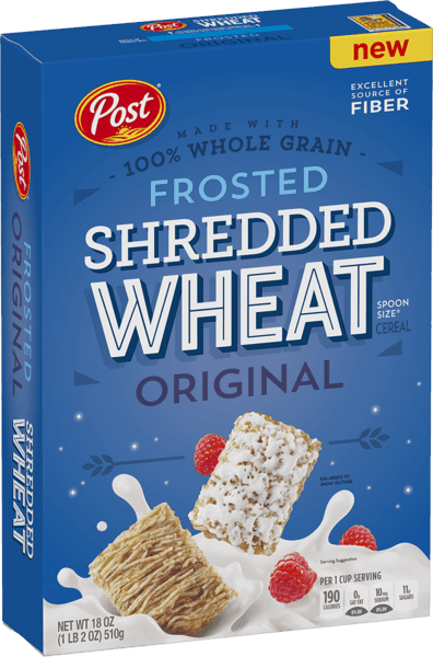 $1.00 for Post® Frosted Shredded Wheat (expiring on Saturday, 02/02/2019). Offer available at Walmart.