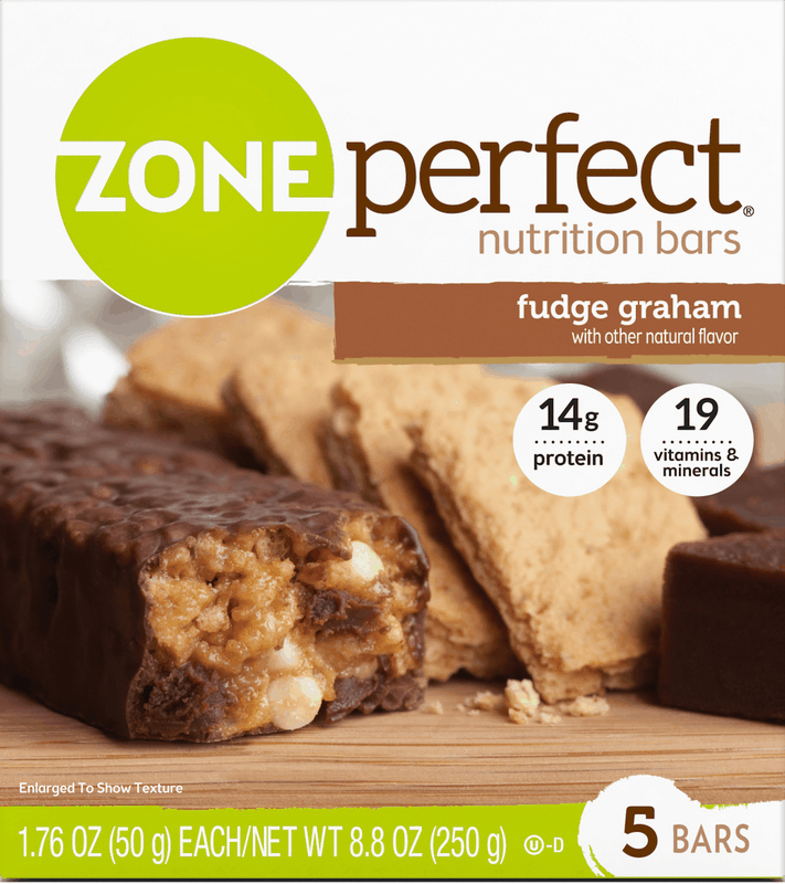 $0.50 for ZonePerfect® Nutrition Bars. Offer available at Walmart.