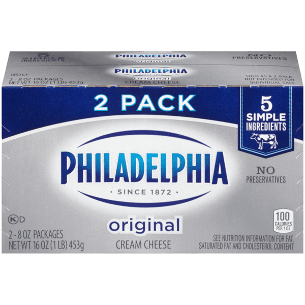 $1.00 for PHILADELPHIA Original Cream Cheese (expiring on Sunday, 06/02/2019). Offer available at multiple stores.