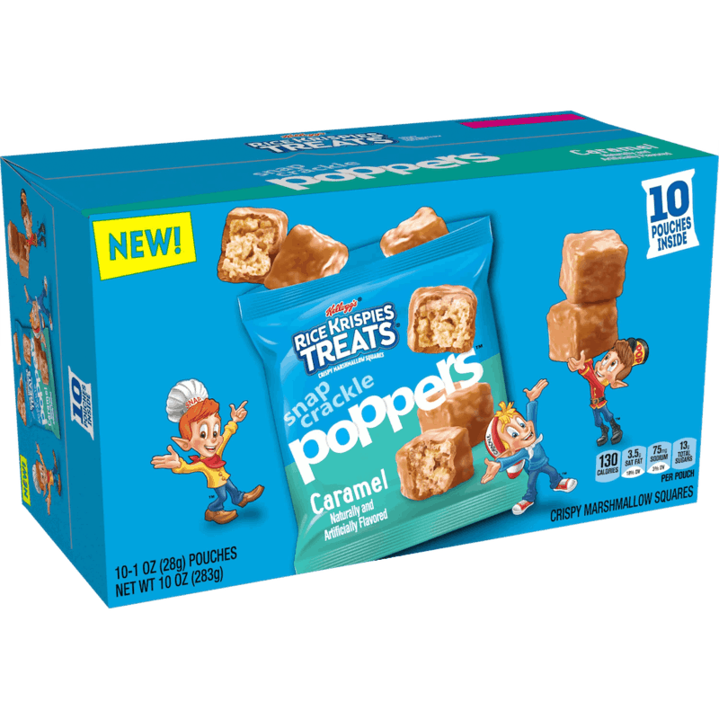 $1.50 for Rice Krispies Treats Snap Crackle Poppers (expiring on Friday, 12/25/2020). Offer available at Walmart, Walmart Grocery.