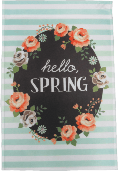 $0.25 for Spring Flag or Flag Holder (expiring on Sunday, 04/01/2018). Offer available at JOANN .